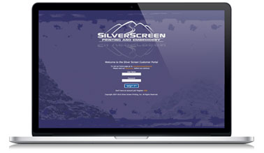 Screen image of the Silver Screen Portal